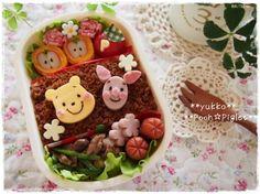 pooh & piglet bento