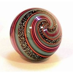 Marbles bring back memories of 5th grade in Montana, ----Geoffrey Beetem handmade glass marble
