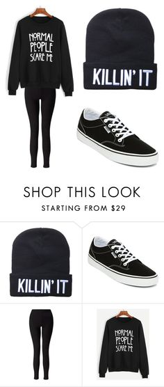 """Marks Daughter 2"" by adimkoff ❤ liked on Polyvore featuring Vans and Miss Selfridge"