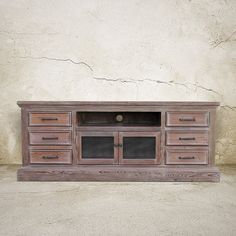 Media Console. TV Stand Entertainment Center by 3handsfurniture