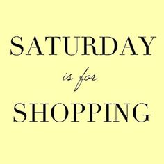 In case you didn't know... .  .  #weekend #shopping #saturday #fun #boutique #shopsmall #mosaicdistrict #fairfaxcorner #fashion #style #fashionista #shopaholic
