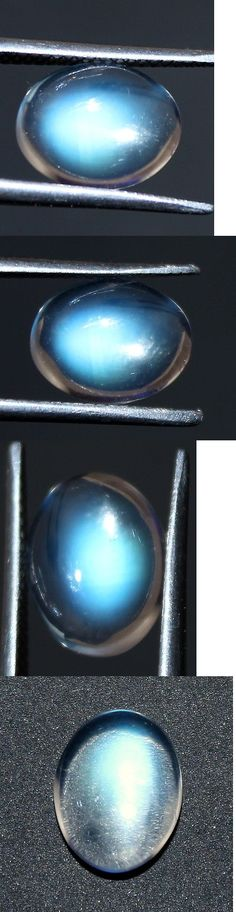 Moonstone 10237: 100%Natural Extra Fine Rainbow Moonstone Oval Cabochon Loose Gemstone 2.55 Cts -> BUY IT NOW ONLY: $269 on eBay!