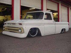 White pick up