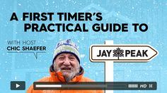 Jay Peak Resort - First Timer's Video Jay Peak Resort, Where To Go, Vermont, Letting Go, Mountain, Graphics, Marketing, Chic, Tips