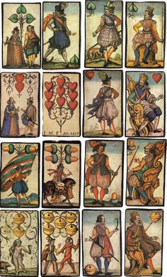 I.M.F. Engraved Cards, 1617 - World of Playing Cards