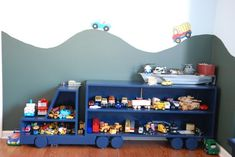 boy car and truck room | ... room, cars and trucks – perfect room for toddler boy, , Boys