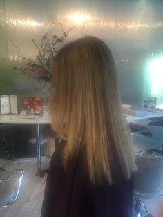 Balyage and ombré cool blonde.. Hair by Annette StyleBar Shoppes of Old Bridge, NJ