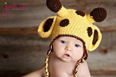 , I hope you guy have a great weekend. To cerebrate My Baby Boy Geo turned 2 year old! Guess what? This super cute giraffe crochet hat pattern is free for all. This cute giraffe hat ver… Giraffe Crochet, Crochet Baby Hat Patterns, Crochet Baby Hats, Crochet Slippers, Crochet For Kids, Free Crochet, Single Crochet Stitch, Crochet For Beginners, Beginner Crochet