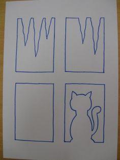 Kočka za oknem :: M o j e v ý t v a r k a
