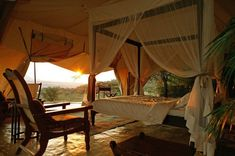 Accommodation Cottars 1920s Camp - Guest Tent 03