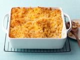 Alton Brown's Baked Macaroni and Cheese Recipe  ~ powdered mustard, paprika, bay leaf? I gotta try this!