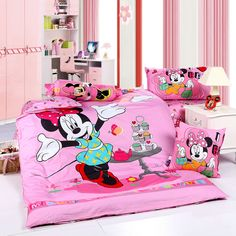 Minnie Mouse Pink Style3 Disney Bedding Sets