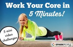 The 5-Minute Abs Workout | SparkPeople