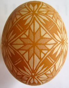 Saving the World: One Egg at a Time: Acid-Etched Pysanky
