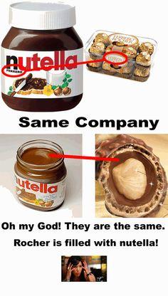 Nutella & Rochers