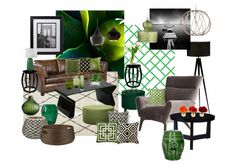 Check out this moodboard created on @olioboard: Green living by tiinaa