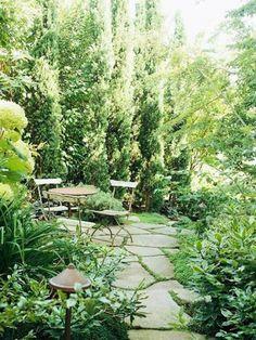 greeny patio garden ideas