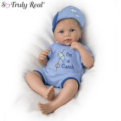 Ashton Drake Megan Rose So Truly Real Baby Girl Doll By