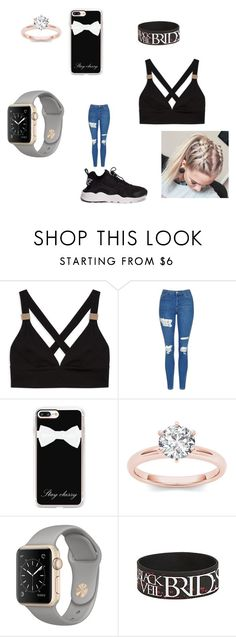 """YouTube  video"" by explorer-14484921021 on Polyvore featuring Topshop, Casetify and NIKE"