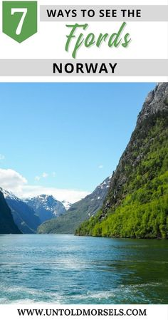 Norway fjords - 7 ways to see the Norwegian fjords from Bergen and Flam. Flam Railway, fjord cruise, fjord safari, fjord tour, Sognefjord, Aurlandsfjord, UNESCO fjord via @untoldmorsels