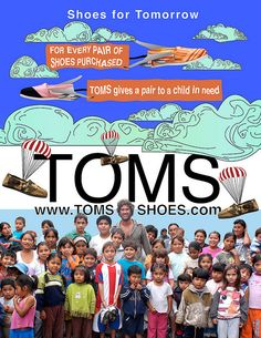 TOMS ~ Shoes for Tomorrow