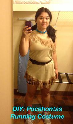 pocahontas running costume