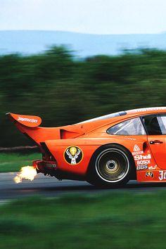 Jägermeister Porsche 935...because flames!