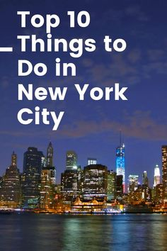 From Broadway to Grand Central to Ellis Island, there's something for everyone in NYC. Here's our picks for the top 10 things to do in New York City. READ THE BLOG