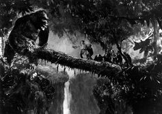 1933, King Kong ......oh oh!  I know how much you love this movie!!!