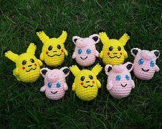 Pikachu and Jigglypuff Pokemon Balls, free crochet patterns on Ravelry by Melissa's Crochet Patterns Pokemon, Pikachu, Free Crochet, Crochet Hats, Elementary Schools, Ravelry, Crochet Patterns, Christmas Ornaments, Holiday Decor