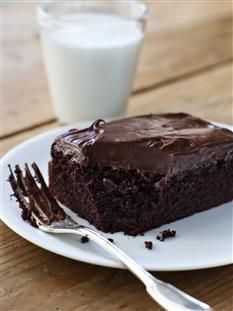 Barefoot Contessa - Recipes - Chocolate Cake with Mocha Frosting