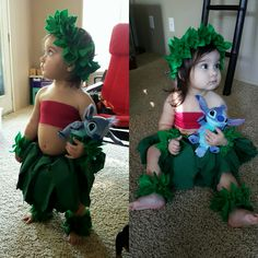 Hand made Lilo costume. Disney's Lilo and Stitch inspired costume.  blossomandbloom.bigcartel.com