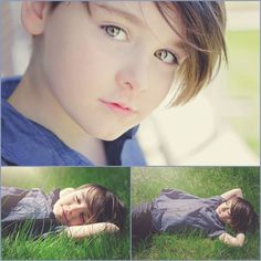Boy photoshoot outdoor. 5 year old boy. Beautiful eyes. Spring. Grass. Love. Son.  Séance photo garçon. 5 ans. Beaux yeux. Printemps. Herbe. Amour. Fils