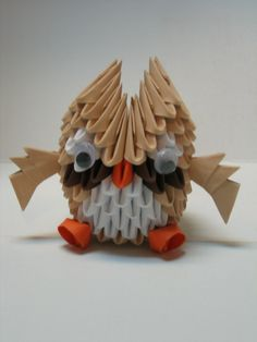 3d origami owl - Google Search