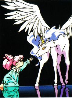 Chibiusa and Helios (Sailor Moon)