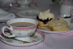 Devonshire Tea @ Moments & Memories Tea Room comes with 2 scones jam and double cream and drink of your choice. Choose from one of 58 teas or perhaps coffee.  34 Camp Street, Beechworth, 3747 Ph 03 57282273  https://www.facebook.com/pages/Moments-Memories-Tea-Room/260063697347323?ref=hl