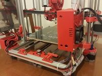 """Releasing my design """"Sigma3D Printer"""" for hobbyists to build it for """"PERSONAL USE ONLY!"""".  My first Sigma3D printer is now 3 years old and can print 7/24. This stable version includes all latest modifications. Most of the parts can be printed both PLA or ABS with infill of minimum %25. X carriage and hotend fan ducts must be printed ABS or PowerABS. You may find revisions made for this thing at the bottom of the page. Please note that you may make shorter versions by ..."""