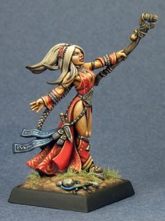 Seoni and Dragon! Reaper Miniatures :: Miniatures