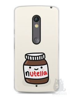Capa Capinha Moto X Play Nutella #2 - SmartCases - Acessórios para celulares e tablets :)