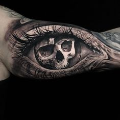 Awesome work by go check their work! Skull Hand Tattoo, Skull Tattoo Design, Skull Tattoos, Tattoo Designs Men, Sleeve Tattoos, Cat Tattoo, Dark Tattoos For Men, Black And Grey Tattoos, Tattoos For Guys