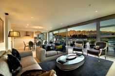 SOLD - Tiamana, Queenstown - an apartment  with a particularly breathtaking view of the Remarkables range.