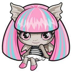 Rochelle Goyle. Monster High Mini. Original Ghouls