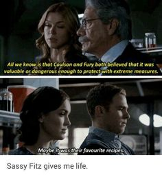 Fitz: *Snaps fingers in as formation