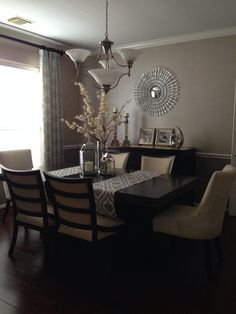 My own design, loved how the room flows and feels fresh with a sense of sophistication.  @ Lina Delgado