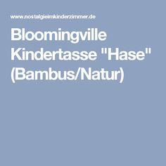 "Bloomingville Kindertasse ""Hase"" (Bambus/Natur)"