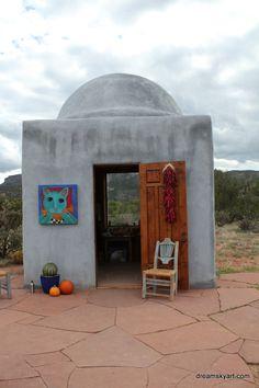 Lori Faye Bock's Studio Abiquiu, New Mexico