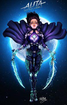 Alita: Battle Angel - Fallen Angel (hopefully we get that damn sequel! Fanart speedpaint as a tribute. Alita Movie, Alita Battle Angel Manga, Female Cyborg, The Best Films, Ghost In The Shell, Community Art, Cyberpunk, Sci Fi, Old Things