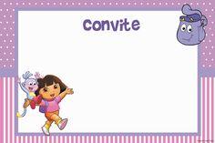 Convite Dora