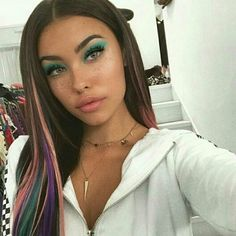 @madisonbeer: candy princess fantasy glam using the luxe @lillylashes #MadisonBeer (Via Instagram) (June 6th, 2017)