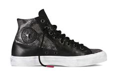 The Spring 2013 Chinese New Year Collection Converse Pro Leather ''Year of the Snake'' special edition sneakers.